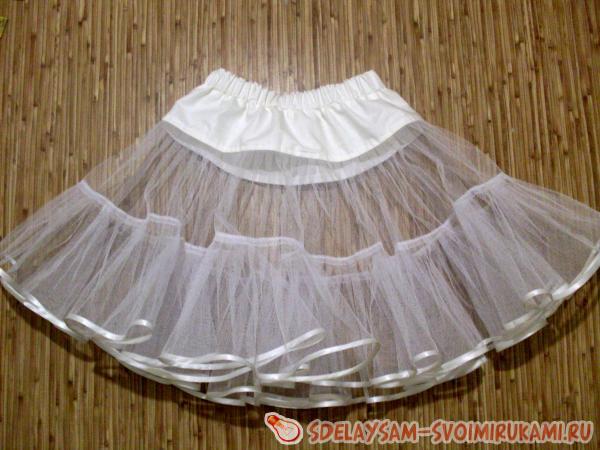 Шьём подъюбочник для юбки покроя «солнце»