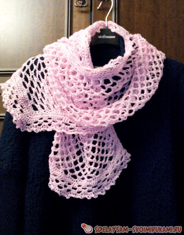 Light pink palatine crochet
