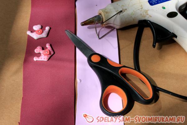 Банты из фоамирана своими руками с пошаговым фото