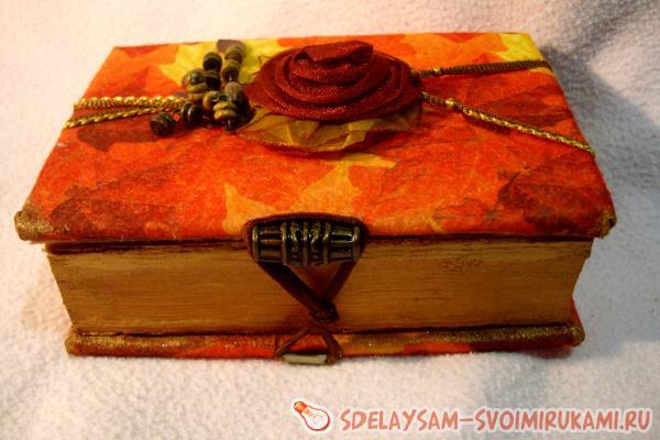 Шкатулка из ненужной книги