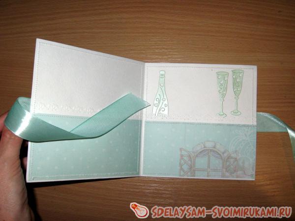 Конверт для свадебного диска