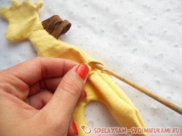 Мягкая игрушка своими руками жираф