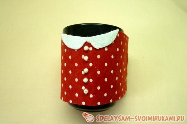 Футляр для чашки из фетра