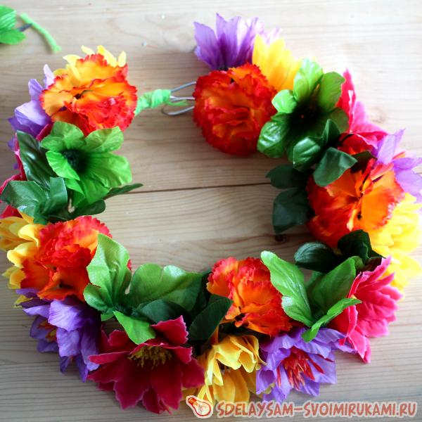 wreath for photo shoots