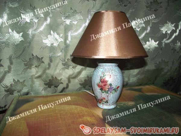 lamp shabby chic