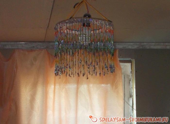 Curtain and lamp shade bead