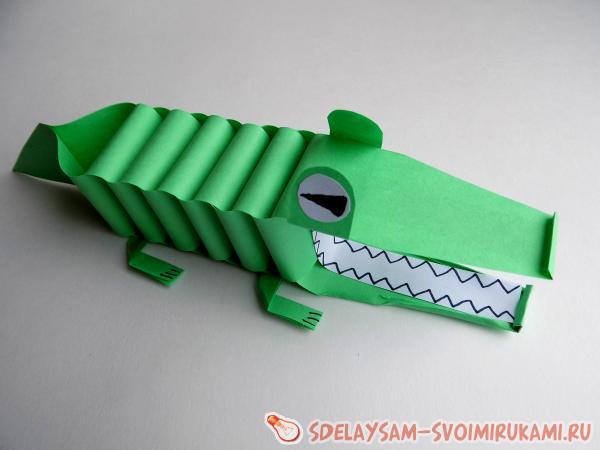 Поделки своими руками крокодил