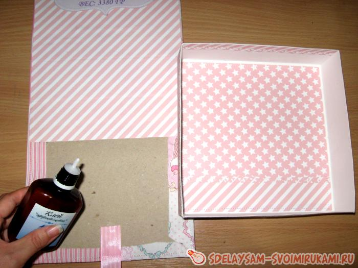 Box for photos and trifles