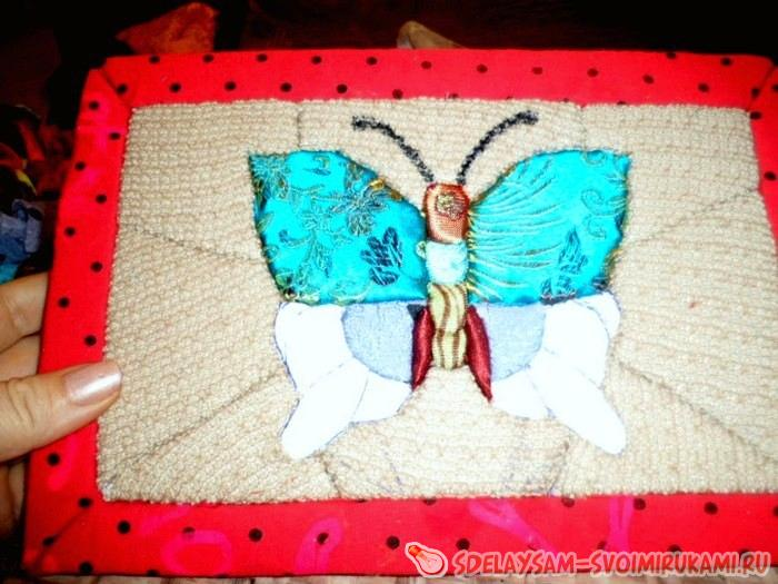 Patchwork without needles kinusayga Butterfly
