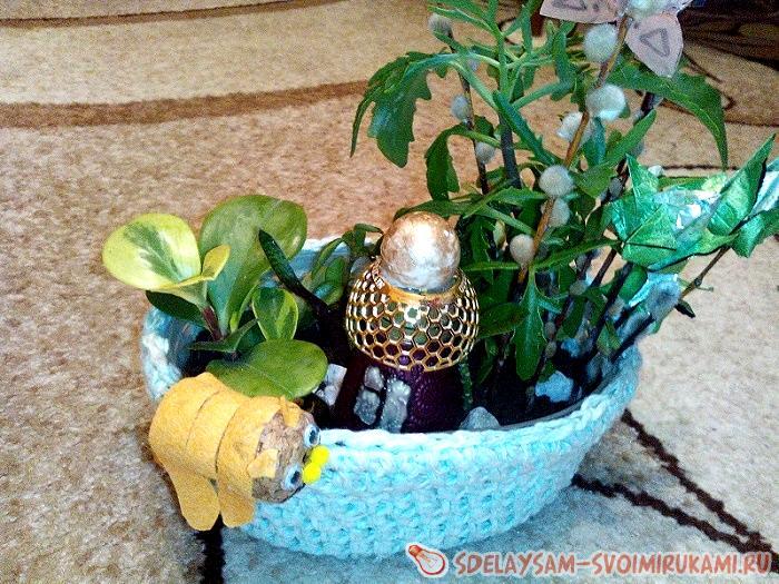 Garden in the pot
