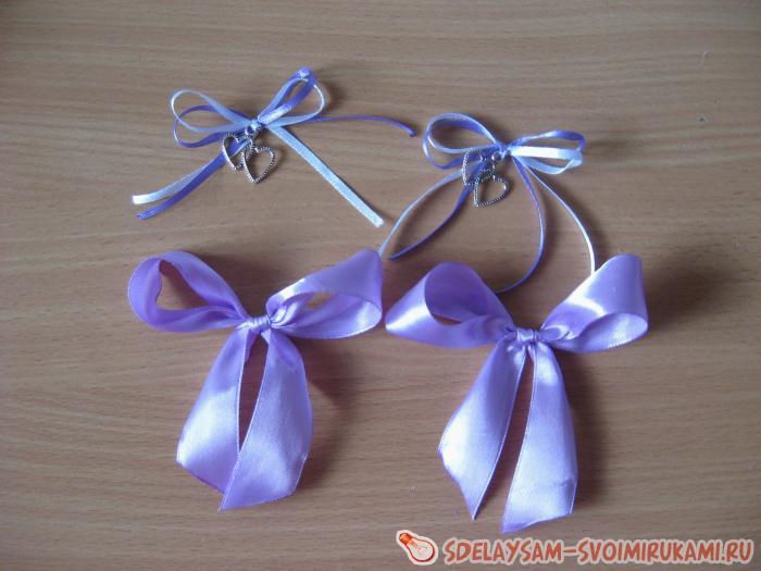 Бокалы на свадьбу в сиреневом цвете