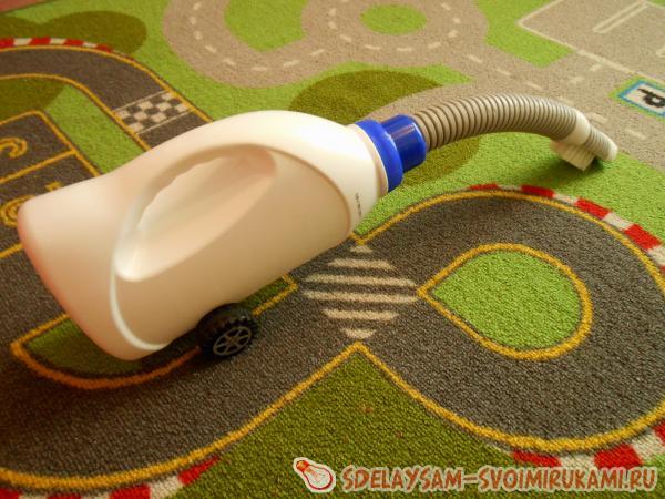 Как сделать детский пылесос для игр