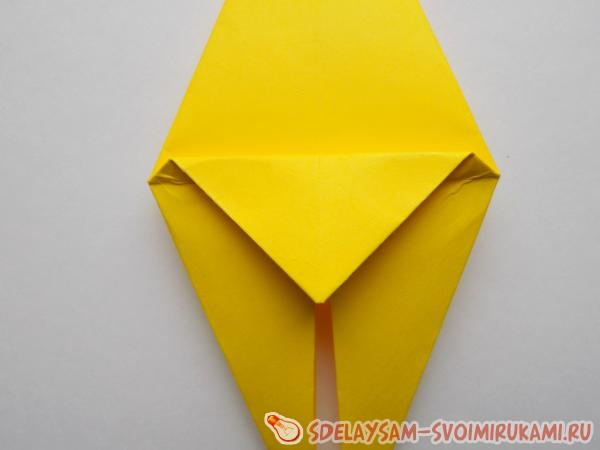 Кальмар из бумаги