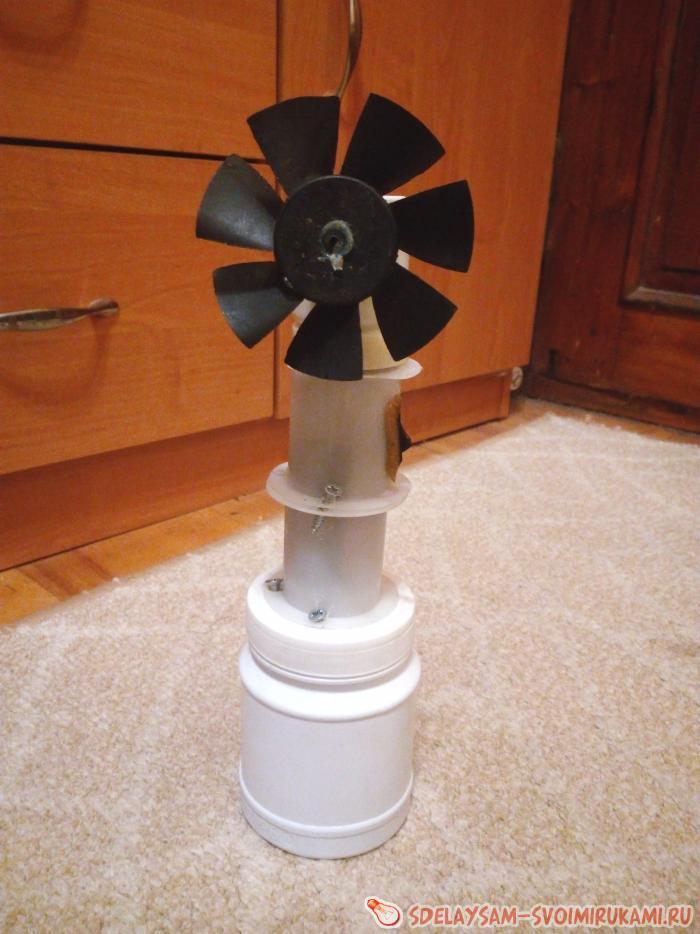 Как сделать вентилятор?