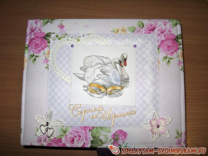 Коробка для свадебных бокалов