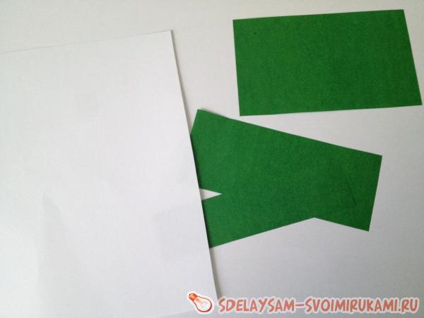 Как сделать открытку с объемной елкой