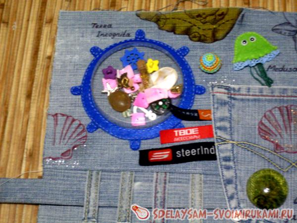 Шьем развивающую салфетку для малыша