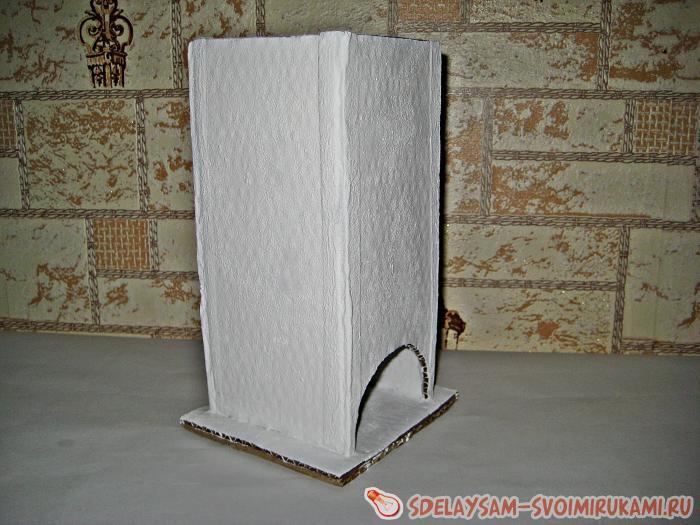 Чайный домик из картона