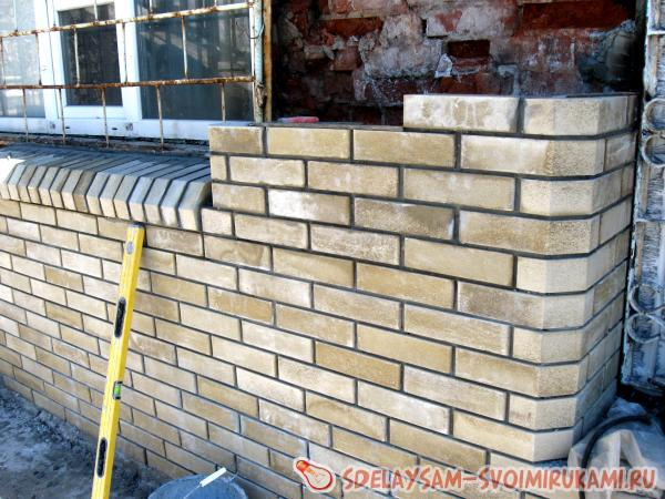 Masonry bricklaying