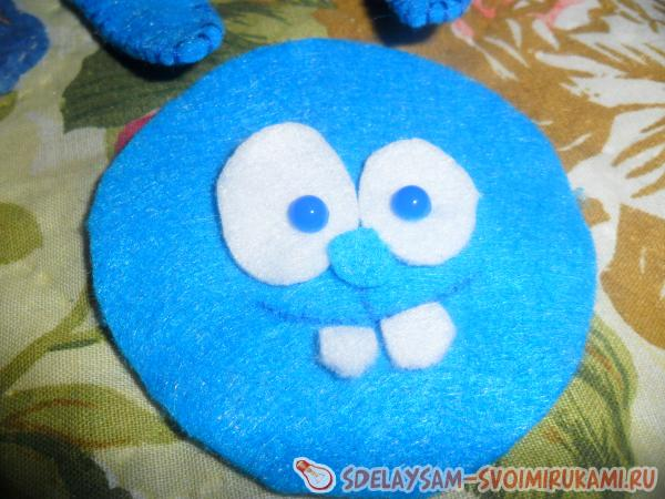 How to sew Croche from felt