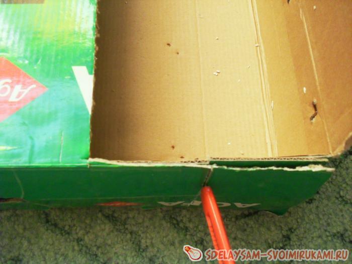 Портфолио в коробке