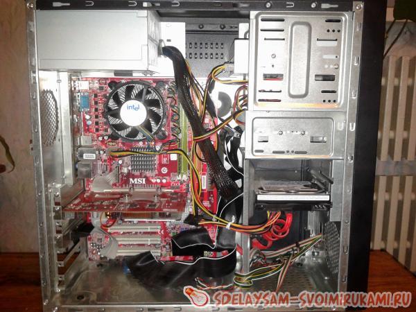 Как разобрать компьютер и почистить его
