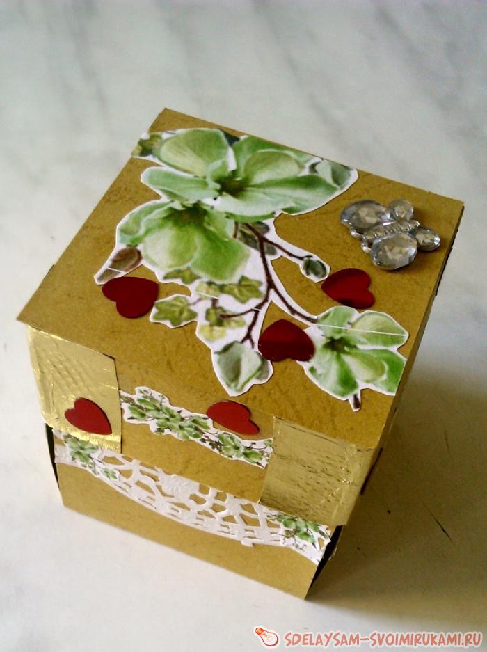 Orchid surprise box