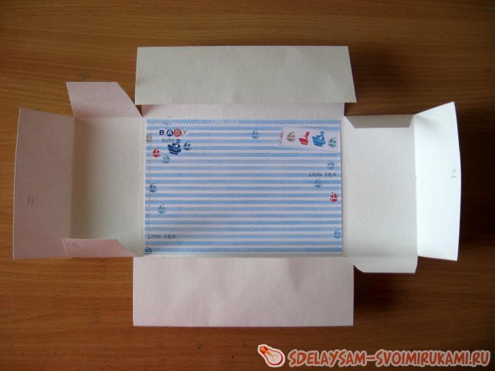 Коробочка шкатулка для фото
