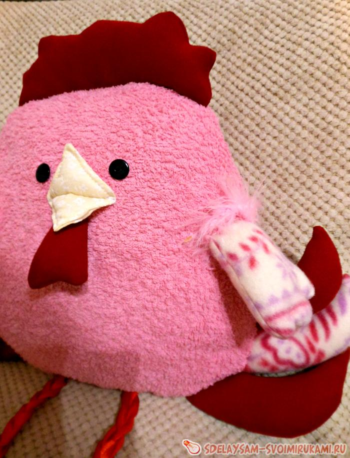 Подушка - игрушка «Петушок»