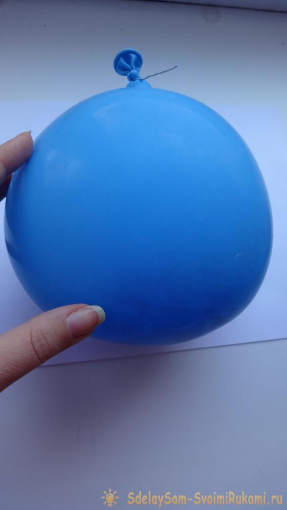 Создаем елочный шар из ниток «Новогоднее чудо» – Ярмарка