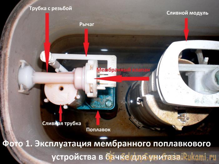 Repairing the toilet bowl