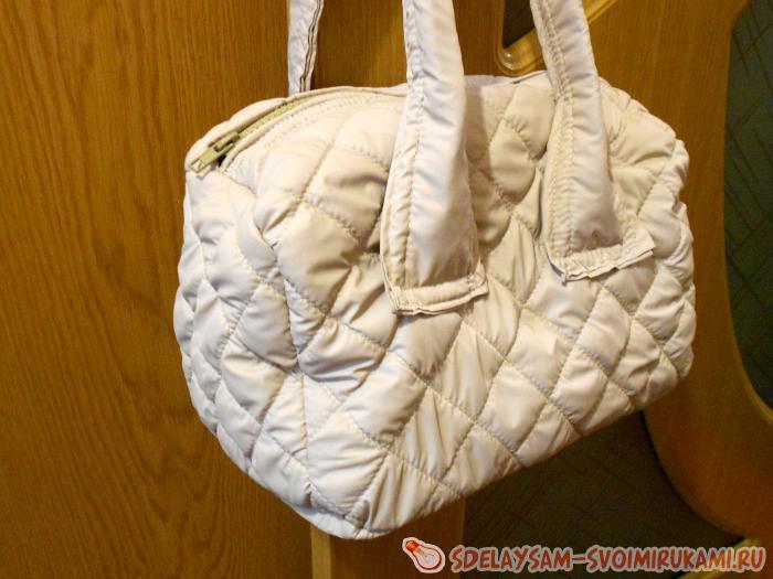 e170fb1efc6e Зимняя сумка «Дутик» | Мастер-класс своими руками