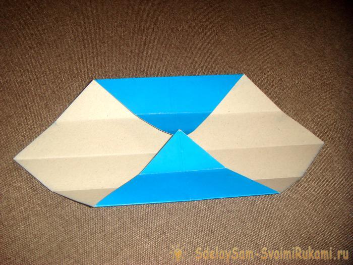 Мини коробочка из картона