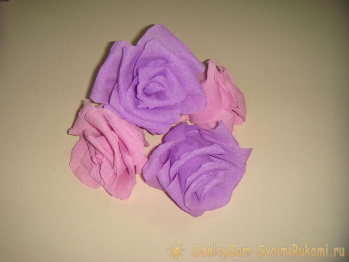 цветы для торта