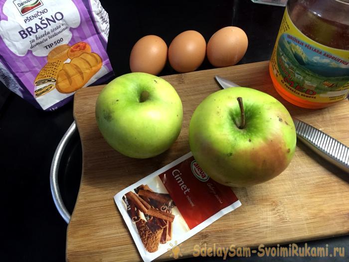 Яблочный пирог мастер класс подробно #1