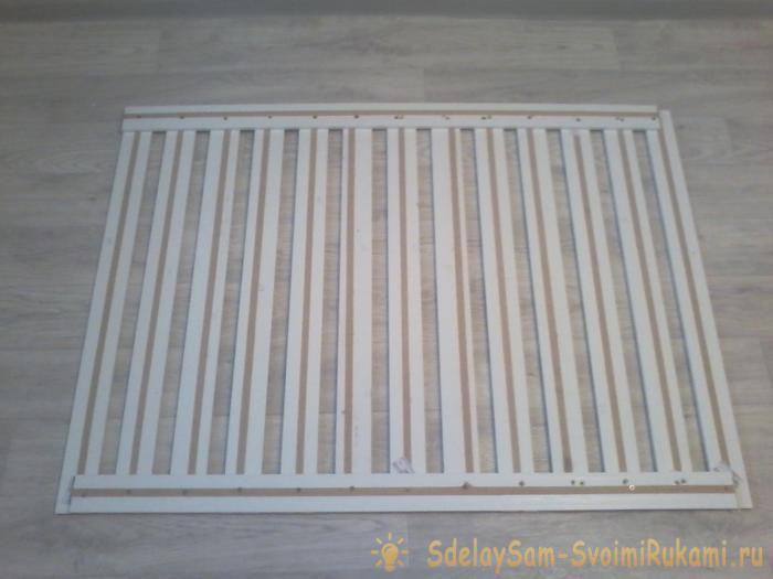 Декоративная решетка под окно