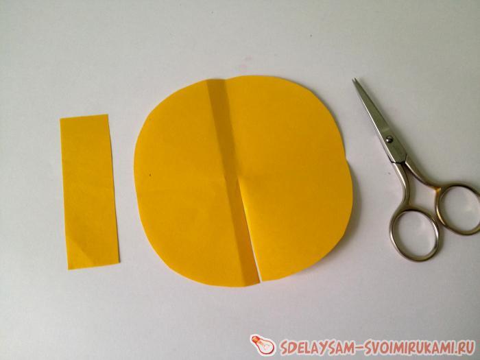 Как сделать петушка из цветной бумаги