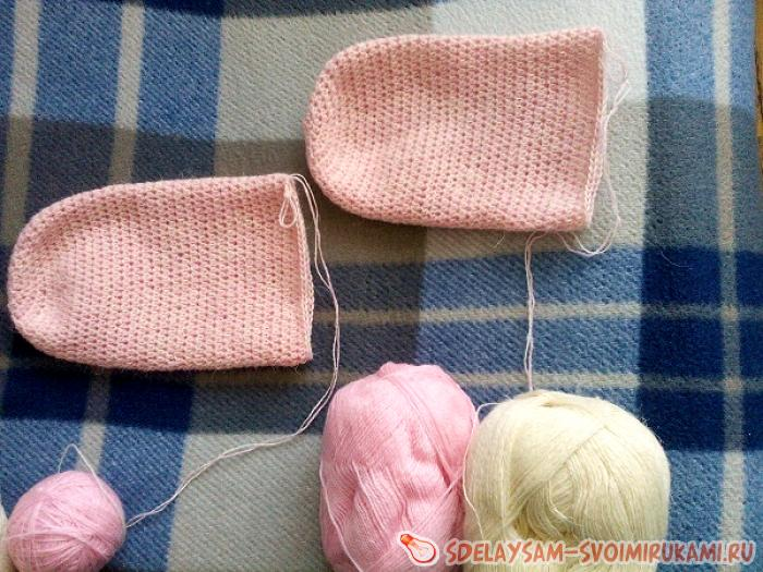 Носочки связанные крючком