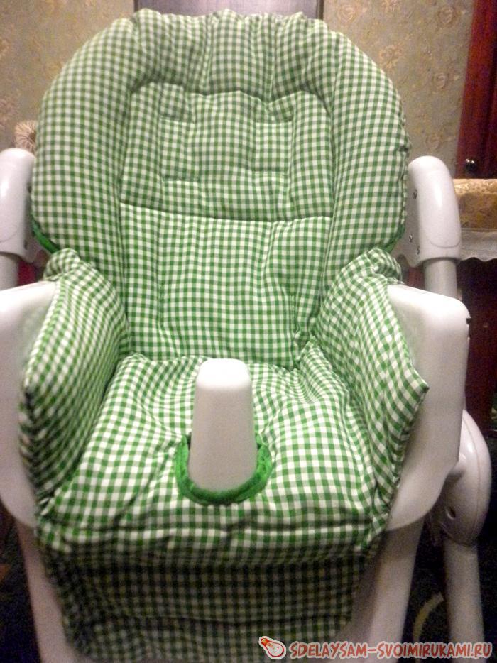 Мастер-класс по пошиву чехла на стульчик для кормления