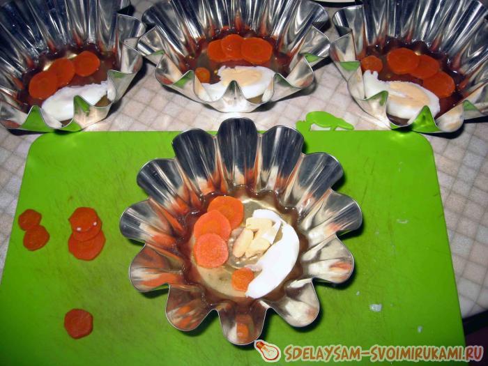 заливное из курицы