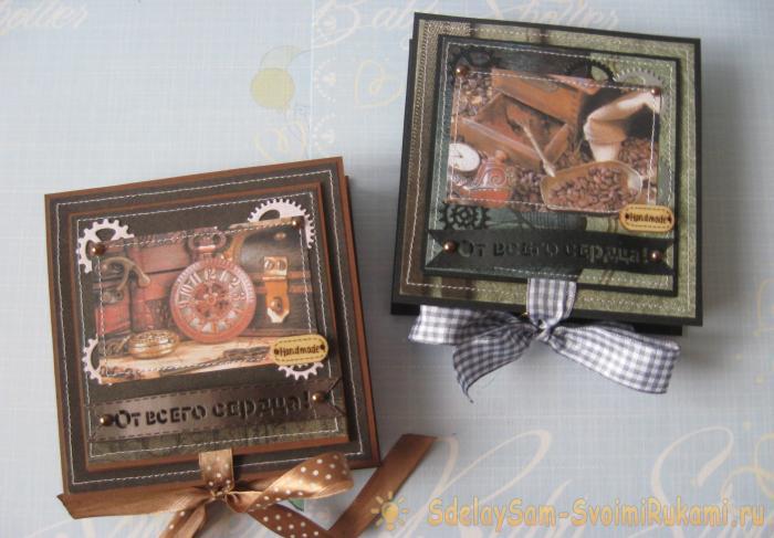 Мужские подарочные коробочки