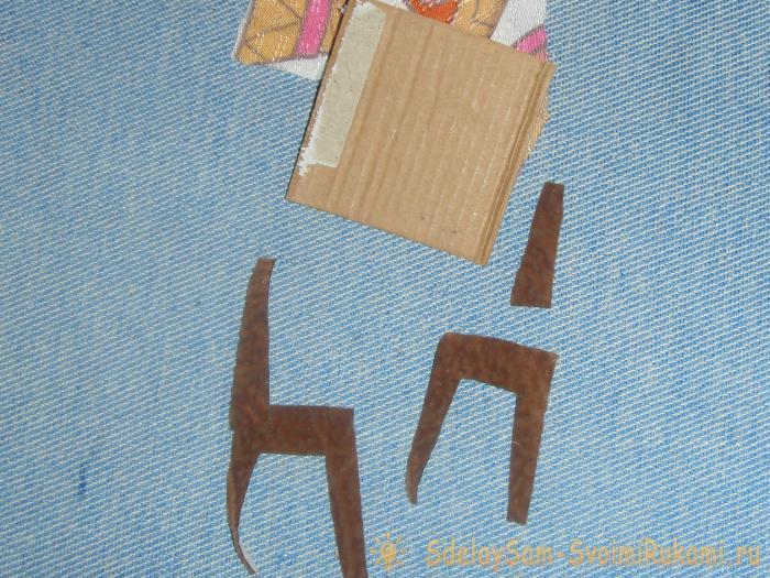 Мягкий кукольный домик книжка