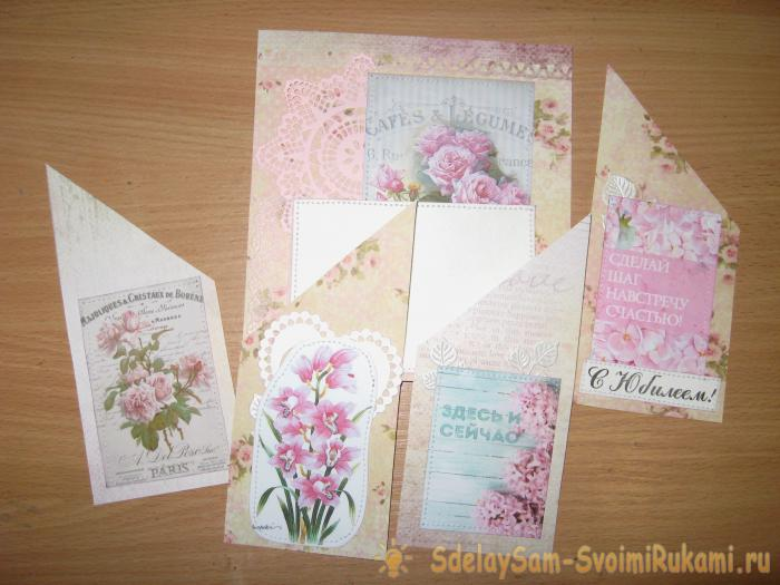 Doing your own jubilee card