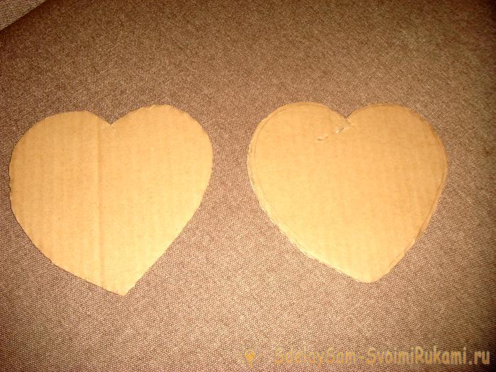 Шкатулка в форме сердца
