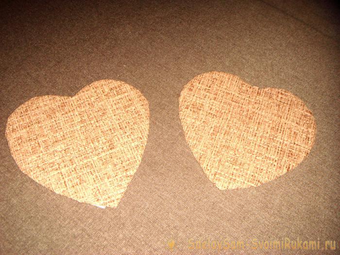 Heart-shaped casket