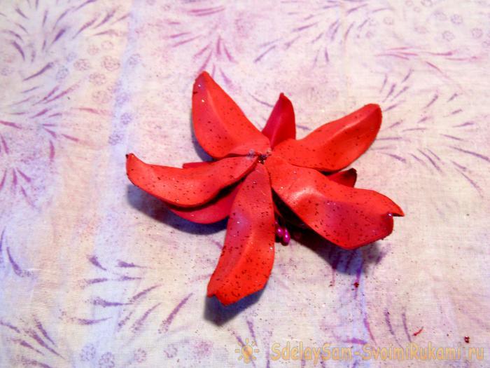 Мастер класс шкатулки с лилией