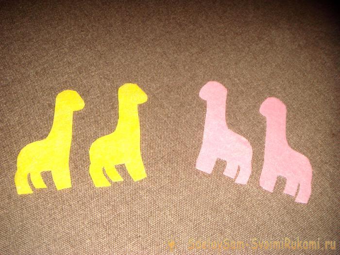 Влюбленные жирафики