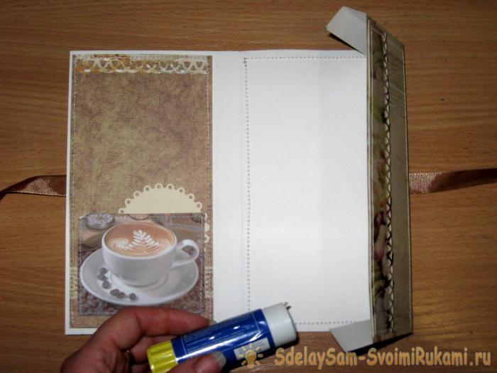 Coffee Card Chocolate Girl