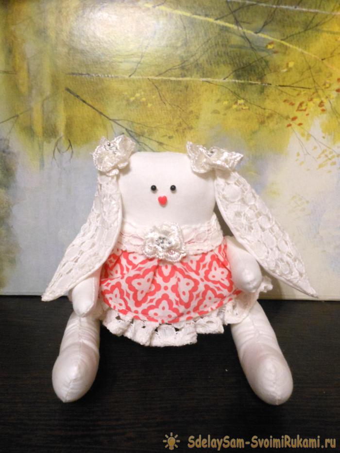 329Как сделать куклу зайчика