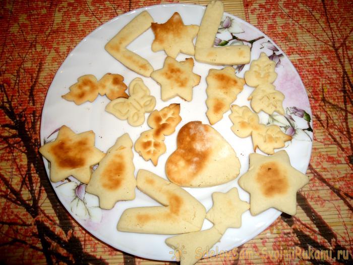 Домашнее печенье Калейдоскоп